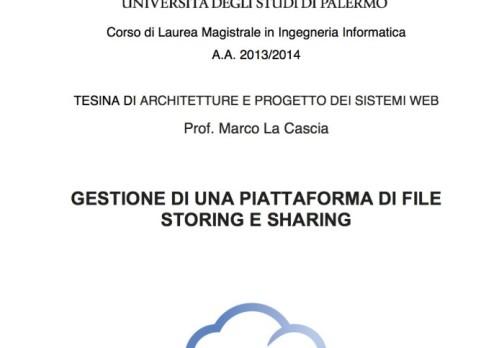 WebApp: File Storing e Sharing