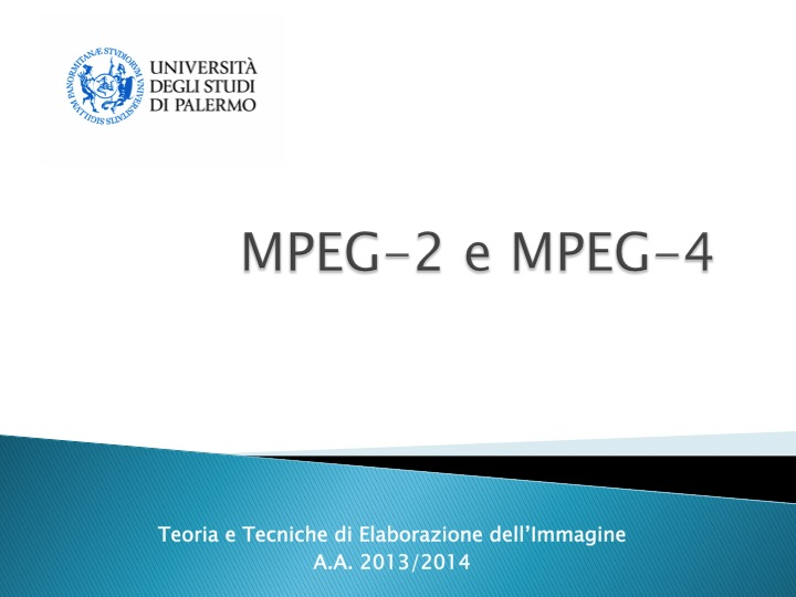 MPEG-2 e MPEG-4