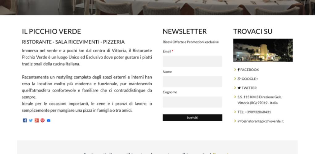 www.ristorantepicchioverde.it